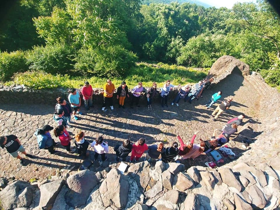 Prayer at the Rock